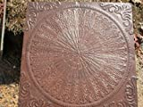 Giant Old English, Victorian Design Steppingstone Mold, Concrete - #SS-2424A