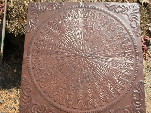 Giant Old English, Victorian Design Steppingstone Mold, Concrete - #SS-2424A (Stone Plastic Mold Abs Stepping)