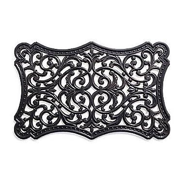 MILLIARD 'Renaissance' Decorative Outdoor Rubber Doormat - 30in.x18in.