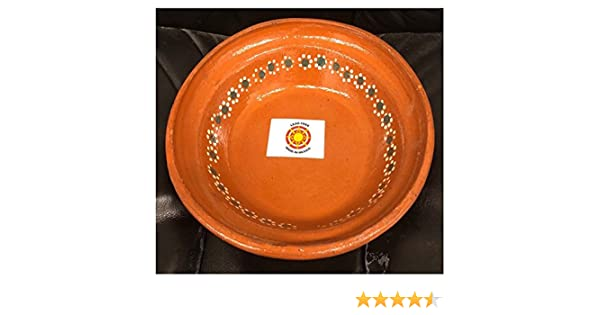 Amazon.com | Set of 4 Made in Mexico Plato Pozolero Soup Cereal Bowl 8.5
