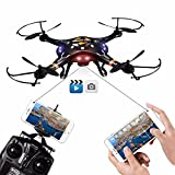 DBPOWER FPV WiFi G-Sensor Control Hawkeye-II Quadcopter One ...