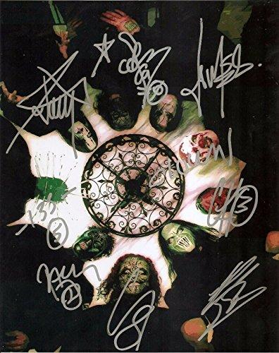 SLIPKNOT full metal band reprint signed promo photo #1 RP -