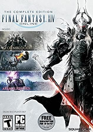Final Fantasy XIV Online Complete Edition - PC: PC: Computer and