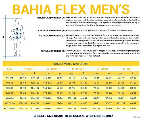 Cressi Men's Front-Zip Full Wetsuit for Water Activities | Bahia & new Bahia Flex