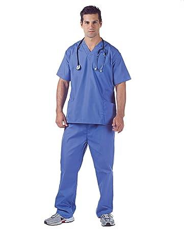 472ce34c291 Horror-Shop Hospital Scrubs Arztkostüm für Fasching   Karneval ...