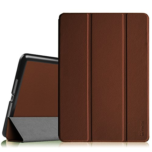 Fintie iPad Air Case- [SlimShell] Ultra Lightweight Stand Smart Protective Cover with Auto Sleep/Wake Feature for Apple iPad Air, Brown