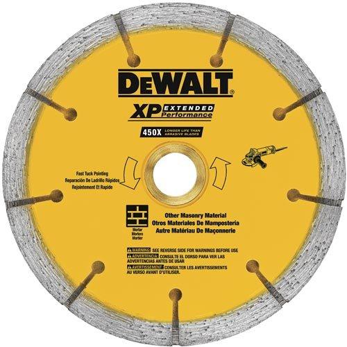 Sandwich Tuck Point - DEWALT DW4740S 0.250 XP Sandwich Tuck Point Blade, 4-1/2-Inch
