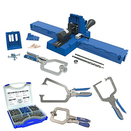 Kreg K5MS K5 Master System With Screw Kit & 3 Piece Clamp Set by Kreg
