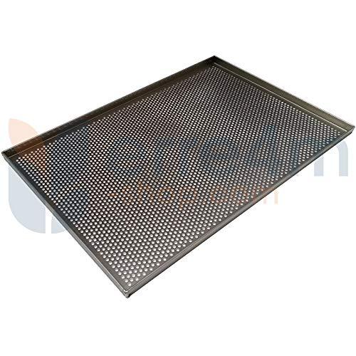 Bandeja de horno con orificios de 5 mm antiadherente 60 x 40 x 2 ...