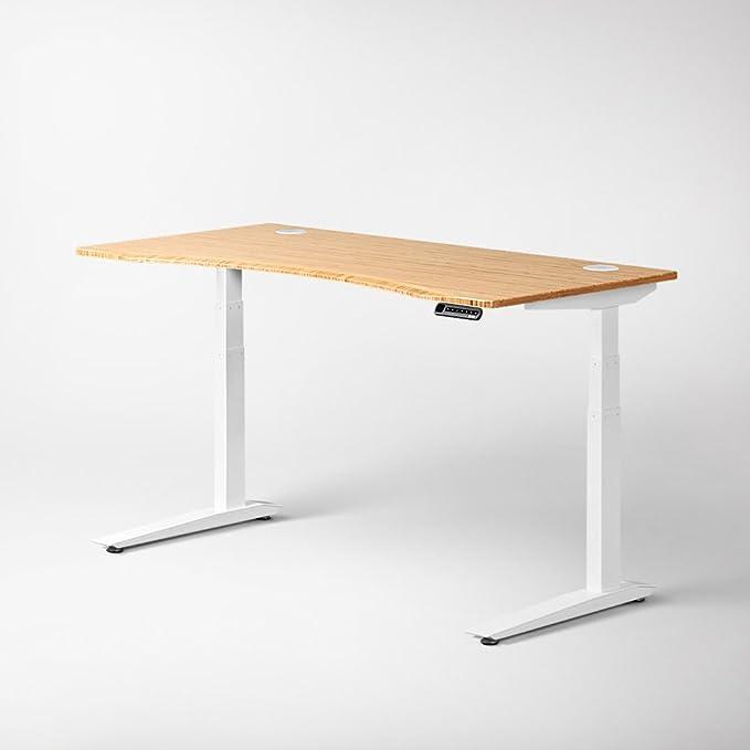 Jarvis eléctrico ajustable altura de pie marco de la mesa: Amazon ...