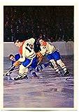 1963/64 Toronto Star Dickie Moore Montreal Canadiens
