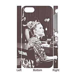 HXYHTY Diy hard Case Demi Lovato customized 3D case For Iphone 4/4s