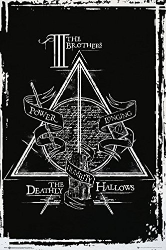Amazon Harry Potter And The Deathly Hallows Movie Poster