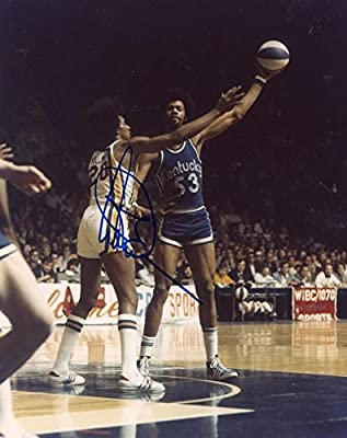 Artis Gilmore Kentucky Colonels Aba Signed 8x10 Photo - Certified Authentic