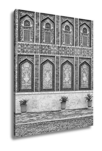 Ashley Canvas Traditional Islamic Architecture In Doha City Qatar Note Soft Focus At 100 Best, Wall Art Home Decor, Ready to Hang, Black/White, 20x16, AG5926984 by Ashley Canvas