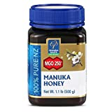 MANUKA HEALTH - MGO 250+ Manuka Honey, 100% Pure New Zealand Honey, 1.1 lbs (500 g) (FFP)