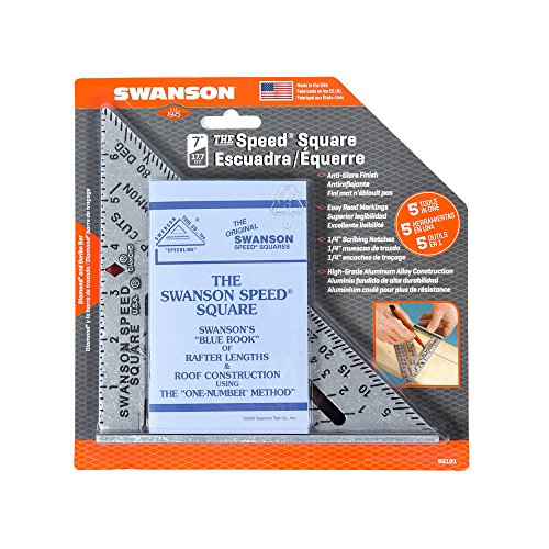 Swanson Speed Square Layout Tool with Blue Book