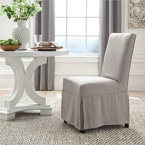 Slipcovered Dining Chair (Chairs Dining Slipcovered)