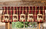 Black Forest Decor River Falls Bear Lined Valance Review