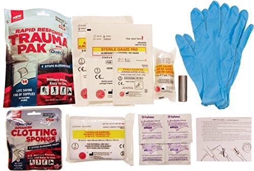 Adventure Medical Kits Rapid Response Trauma Pak with QuikClot by Adventure Medical Kits