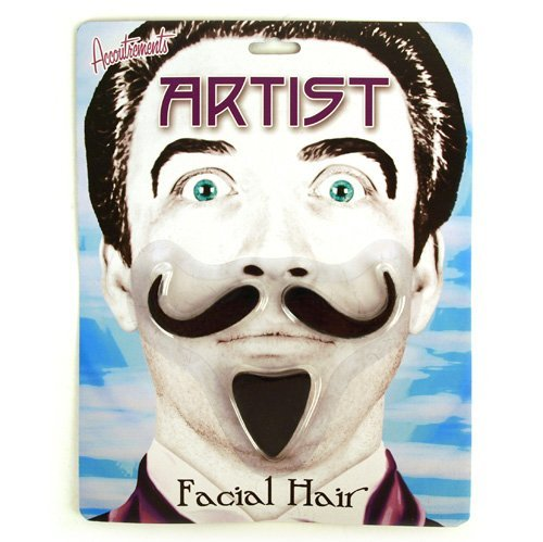 Artist Facial Hair by Accoutrements Toy Zany