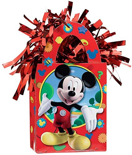 Disney Mickey Mini Tote Balloon Weight - 5.5 In. x 3 In. Each by Mick Mouse (Mini Mickey Balloon)