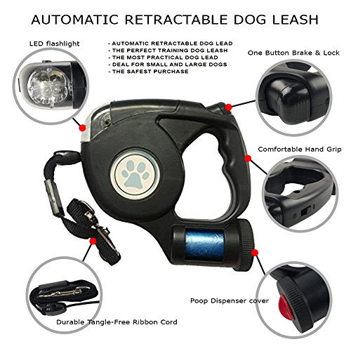 Buy rated retractable dog leash