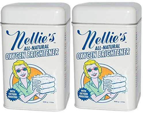 Nellie's All-Natural Oxygen Brightener Tin - 2 lb (pack of 2) by Nellie's