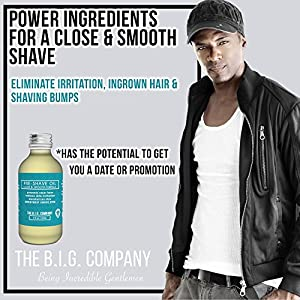 B.I.G. Natural Pre Shave Oil, 60 ml