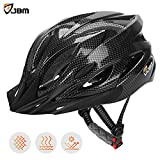 JBM Adult Cycling Bike Helmet Specialized for Men Women Safety Protection CPSC Certified (18 Colors) Black / Red / Blue / Pink / Silver Adjustable Lightweight Helmet with Reflective Stripe and Remova