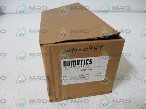 Numatics L50l-06F Lubricator, 3/4'' Npt, Highflow With Button Fill L50l-06F by Numatics