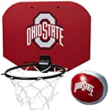 Jarden Sports Ohio State Buckeyes NCAA Slam Dunk Hoop Set - Red,