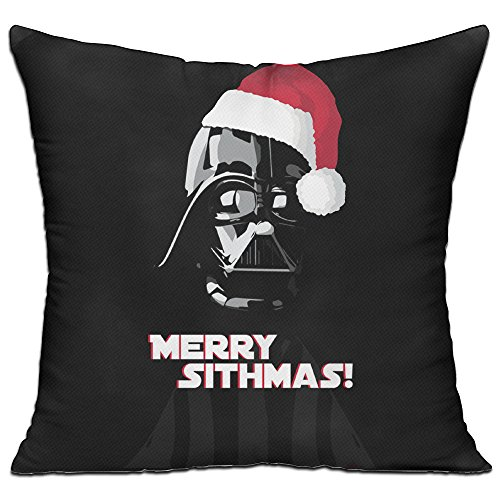 Merry Christmas Star Wark Durable Throw Pillow One Size (How To Make Ghostbuster Costume)