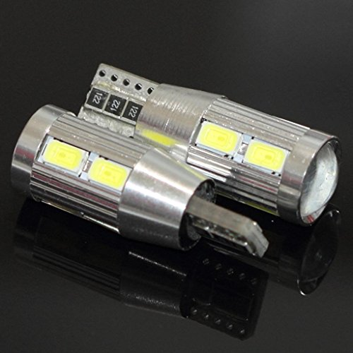 2x Canbus T10 Samsung Projector 8 LED With Aluminum Heat ...