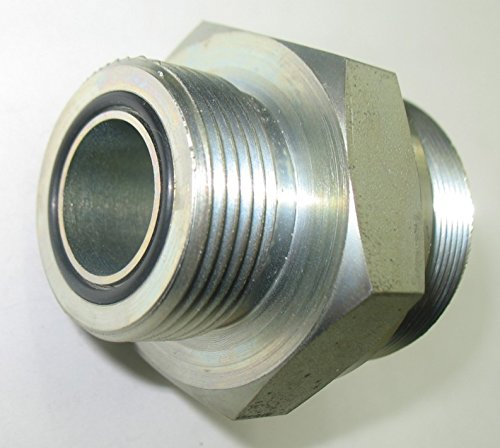 X 36mm X 1.5 Kobelco 1-3//16-12 Threads 3//4 Male O-Ring Face AF 6247-12-28-36 28mm Tube