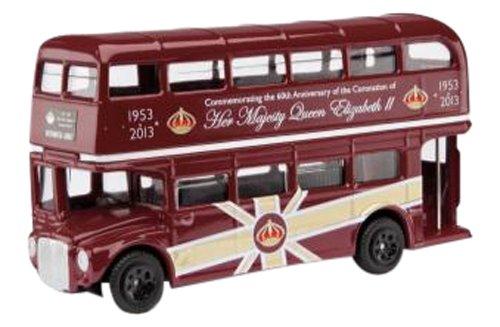 1/64 エリザベス女王2世即位60周年記念ルートマスターバス CC82320