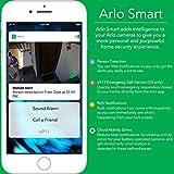 Arlo Q - Wired, 1080p HD Security Camera | Night