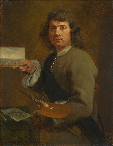 The High Quality Polyster Canvas Of Oil Painting 'Gonzales Coques Sight (Portrait Of Robert Van Den Hoecke) ' ,size: 20 X 26 Inch / 51 X 65 Cm ,this High Definition Art Decorative Canvas Prints Is Fit For Home Office Artwork And Home Decor And Gifts by Leo Brown