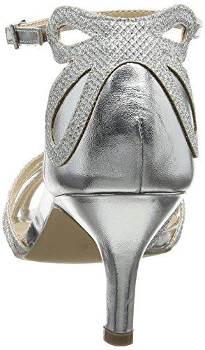 Donna Con Melby Paradox silver Silver London Alla Sandali Caviglia Cinturino Pink 88wZI7qFC