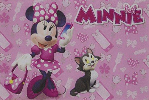 Tapete Linha Digital Disney Minnie Fashion JolitexRosa 40x60cm