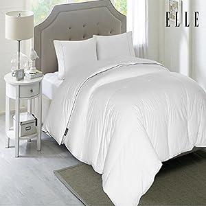 Amazon Com Elle 1200 Thread Count Cotton Rich Down
