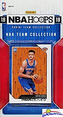 New York Knicks 20182019 Panini Hoops Nba Basketball