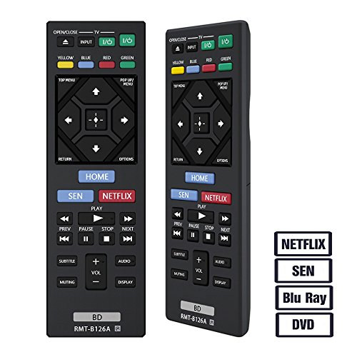 Gvirtue Blu Ray Remote Control Compatible Replacement for S