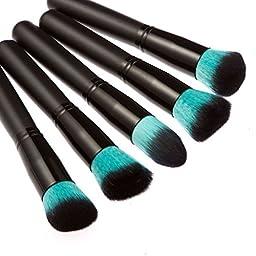 LEORX Face Contour Kit Highlighter Makeup Kit 15 Colour Cream Concealer Palette with 10pcs Brush