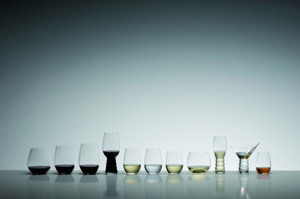 Riedel O Wine Tumbler Cabernet//Merlot and Viognier//Chardonnay Set of 4