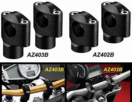 Rizoma 60 mm Handlebar Risers for 29mm Conical Bars (AZ403B)