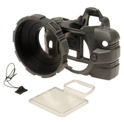 MADE Products CA-1126-BLK Camera Armor for Olympus E410 Digital SLR (Olympus Silicone Skin)