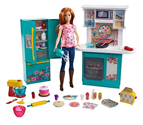 Barbie as Pioneer Woman with Ree Drummond Doll Kitchen Playset (Barbie Kitchen)