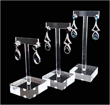 """100 Black Jewelry Earring Display Hanging Holder Cards 1.8/""""X1.2/"""""""