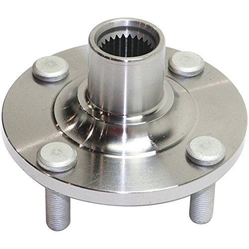 Evan-Fischer EVA1651141735 Wheel Hub Assembly for VERSA 12-16/VERSA NOTE 14-16 FRONT HUB RH=LH Bearing not included Replaces OE Number 40202AX000